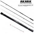 Удилище штекерное углепластик фидерное 3 колена Akara Experience Feeder TX-30 (30-60-90) 3,9 м