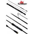 Спиннинг штекерный углепластик 2 колена S Master Twich Master MH (10,5-28) 1,98 м