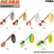 Блесна вращающаяся Akara Tournament Series Fora 2 8 гр. 2/7 oz. A19