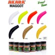 "Силиконовая приманка Akara Trout Time MAGGOT 1,6"" 446, Garlic (10 шт)"