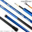 Удилище телескопическое стеклопластик д/с Fish2Fish Rapid New (10-40) 5,0 м Blue б/к
