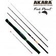 Удилище штекерное углепластик фидерное 3 колена Akara L17033 Fish Point TX-20 (40-80-120 гр.) 3,9 м