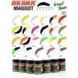 Силиконовая приманка Akara Trout Time MAGGOT 1,6 Tu-Frutti 12 (10 шт.)