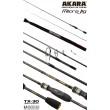 Спиннинг штекерный углепластик 2 колена Akara SL1003 Micro Jig 762UL-T TX-30 (0,6-8) 2,3 м