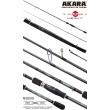 Спиннинг штекерный углепластик 2 колена Akara Teuri Heavy H (30-80) 2,7 м
