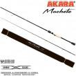 Спиннинг штекерный углепластик 2 колена Akara Machete M702 (8-32) 2,1 м
