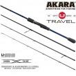 Спиннинг штекерный углепластик 4 колена Akara Teuri Travel L (1-12) 2,28 м