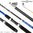 Спиннинг телескопический стеклопластик к/с Fish2fish Rapid New (10-40) 3,6 м Blue