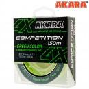 Шнур Akara Competition Green 150 м 0,18