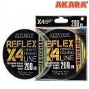 Шнур Akara Reflex Multicolor 200 м 0,25