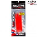 Трубка перчик Kujira G-Makk для крючков 10/0 Red (5 шт)