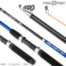 Спиннинг телескопический стеклопластик к/с Fish2fish Rapid New (10-40) 2,4 м Blue