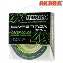Шнур Akara Competition Green 100 м 0,18