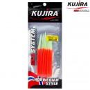Трубка перчик Kujira G-Makk для крючков 8/0 Lumo+Red (6 шт)