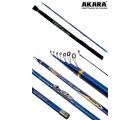 Удилище телескопическое углепластик д/с Akara Samurai IM9 (10-30) 4,0 м
