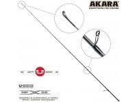 Хлыст углепластик для спиннинга Akara Teuri S762ML (5,5-17,5) 2,3 м