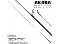 Хлыст углепластик для спиннинга Akara Erion Jig Spin IM9 (2-8) 1,98 м