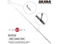 Хлыст углепластик для спиннинга Akara Teuri S762UL (0,6-7) 2,3 м