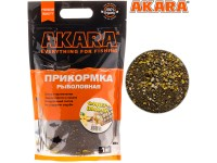 Прикормка Akara Premium Organic 1,0 кг Фидер Ваниль