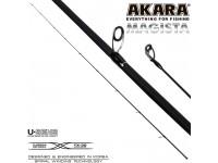 Хлыст углепластик для спиннинга Akara Magista MLMF 762 TX-20 (2,8-7,0) 2,28 м