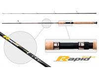 Спиннинг штекерный углепластик 2 колена S Master 3146 Rapid Series Lite IM6 (3-15) 2,7 м
