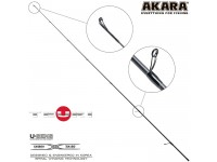Хлыст углепластик для спиннинга Akara Teuri S702ML (5,5-17,5) 2,1 м