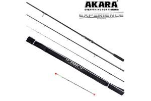 Удилище штекерное углепластик фидерное 3 колена Akara Experience Feeder TX-20 (50-100-150) 3, 9 м