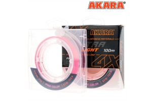 Шнур Akara Ultra Light Pink 100 м 0, 10