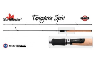 Спиннинг штекерный углепластик 2 колена S Master YS5004 Yamato Series Tanagura Spin TX-20 (4, 5-21) 2, 1 м