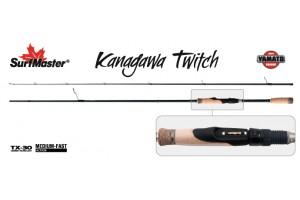 Спиннинг штекерный углепластик 2 колена S Master YS5007 Yamato Series Kanagawa Twitch TX-30 (3, 5-11) 2, 05 м