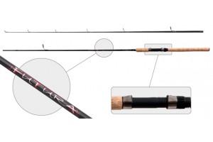 Спиннинг штекерный углепластик 2 колена Akara Futura IM8 (5-25) 2, 4 м