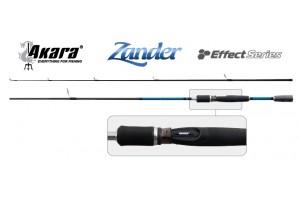 Спиннинг штекерный углепластик 2 колена Akara 3167 Effect Series Zander IM8 (10-40) 2, 7 м