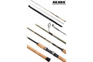 Спиннинг штекерный углепластик 2 колена Akara River Hunter M (7-28) 2, 7 м