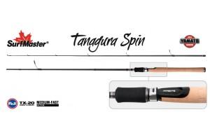 Спиннинг штекерный углепластик 2 колена S Master YS5004 Yamato Series Tanagura Spin TX-20 (4, 5-21) 2, 7 м