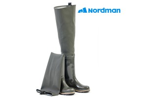 Сапоги Nordman 5-238-G15 болотные трехцветные 45 р-р.