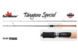 Спиннинг штекерный углепластик 2 колена S Master YS5005 Yamato Series Tanagura Special TX-20 (5-28) 2, 1 м