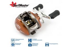Катушка мультипликаторная Surf Master Focus FC10A 6+2bb R кастинг + смазка