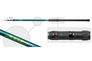 Удочка телескопическая стеклопластик д/с Akara Wolf / Logo (10-35) 6, 0 м