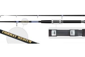 Спиннинг штекерный стеклопластик 2 колена S Master 1372 Combat Medium (50-100) 1, 8 м