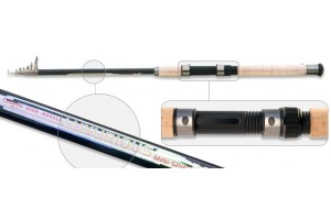 Спиннинг телескопический углепластик к/с S Master 1351 Luxurious (10-45) 2, 7 м