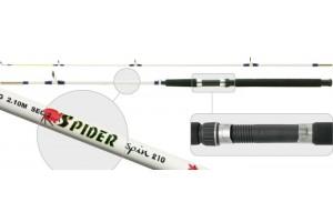 Спиннинг штекерный стеклопластик 2 колена S Master 1213 Spider (80-150) 2, 4 м