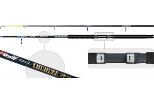 Спиннинг штекерный стеклопластик 2 колена S Master 1354 Thunder (300-500) 1, 65 м