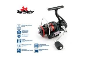 Катушка безынерционная Surf Master Black Bass FB3500A 5+1bb зап. шпуля