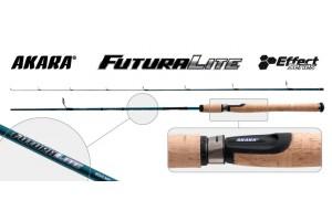 Спиннинг штекерный углепластик 2 колена Akara L1232 Effect Series Futura Light 902LF IM8 (1-8) 2, 72 м