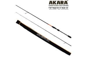 Спиннинг штекерный углепластик 2 колена Akara Teuri HS702 TX-30 (21-56) 2, 1 м