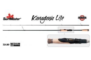 Спиннинг штекерный углепластик 2 колена S Master YS5006 Yamato Series Kanagawa Lite TX-30 (2, 5-11) 2, 44 м