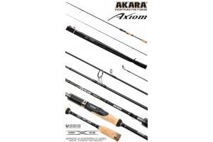 Спиннинг штекерный углепластик 2 колена Akara Axiom M (6-28) 2, 70 м