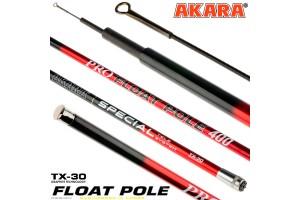 Удилище телескопическое углепластик д/с Akara Float Pole (15-35) 4,0 м б/к