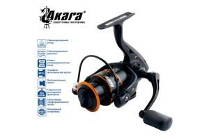 Катушка безынерционная Akara Black Hunter BHF2000 9+1 зап. шпуля