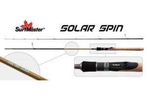 Спиннинг штекерный углепластик 2 колена S Master SP1125 Solar Spin 802MHM HMC (5, 5-21) 2, 4 м